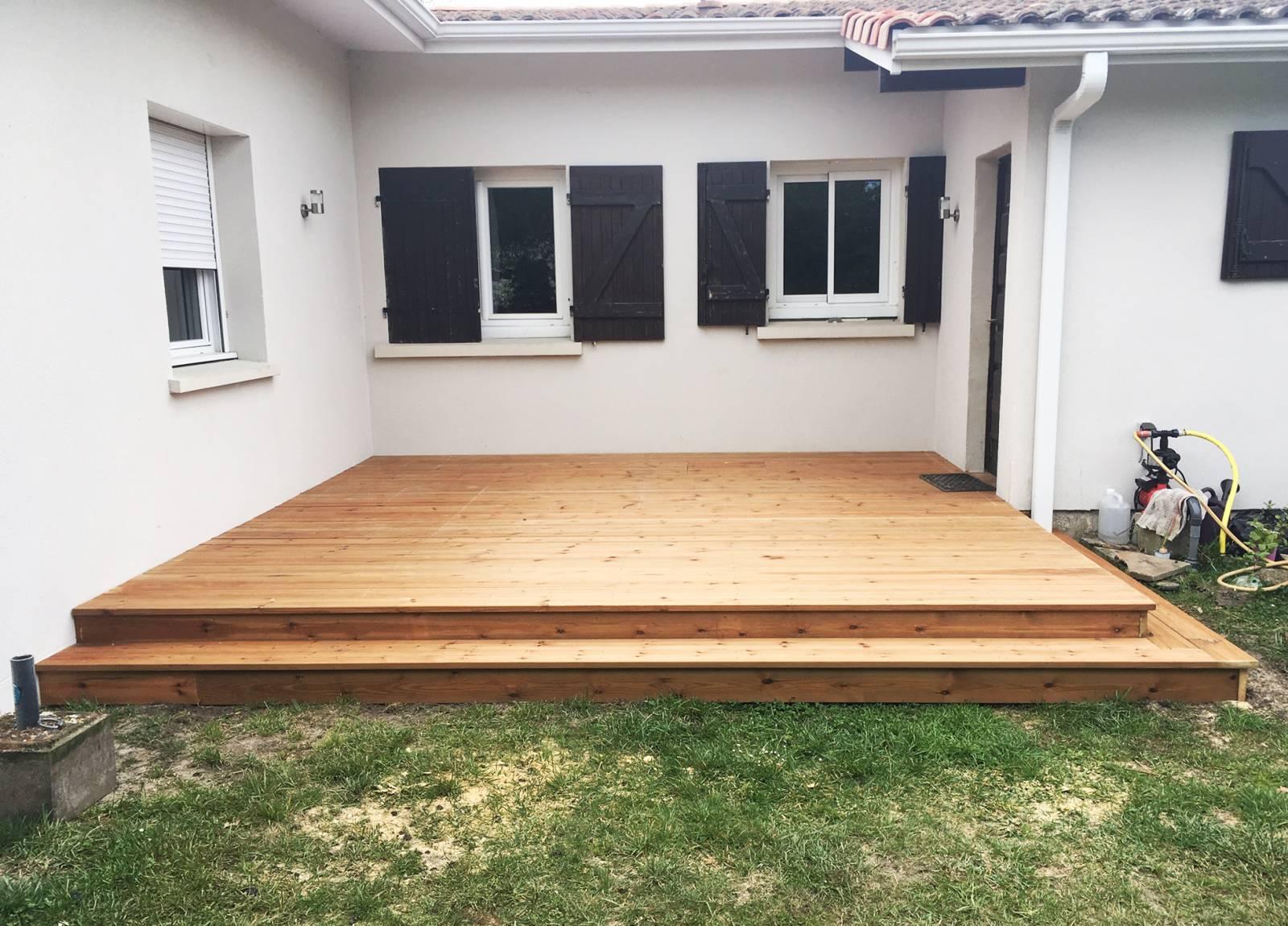 Création D Une Terrasse En Bois Pour Un Petit Espace Sur La